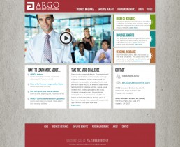 Argo Website Design - 1