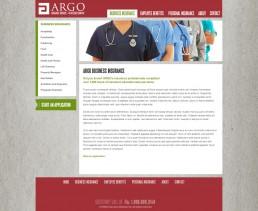 Argo Website Design - 2