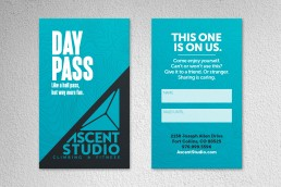 Ascent Studio - Day Pass Card