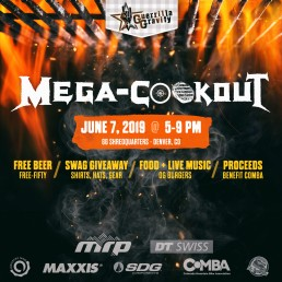 Guerrilla Gravity - Mega-Cookout Invite