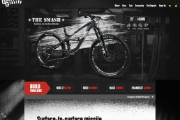 Guerrilla Gravity - Website Design
