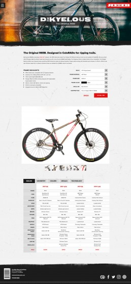 REEB Website Design