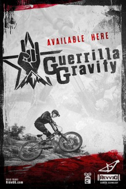 Guerrilla Gravity - Shop Poster